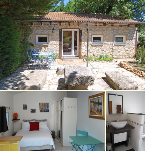Cottage with pool near Avignon in Provence