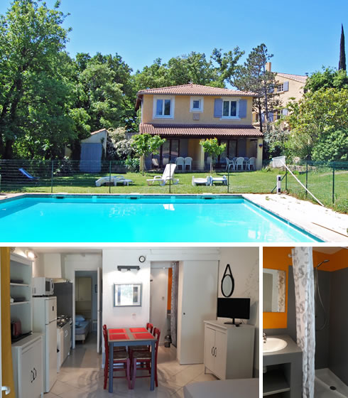 Accommodation with swimming pool in Provence